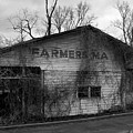 Old Farmer's Market Shed by Betty Northcutt
