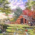 Old Farmhouse by Dominic Davison