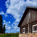 Old Farmhouse by HelenaP Art