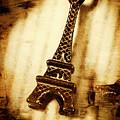 Old Fashion Eiffel Tower Souvenir by Jorgo Photography - Wall Art Gallery