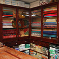 Old-fashioned Fabric Shop by Gaspar Avila