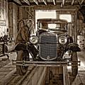 Old Fashioned Tlc Monochrome by Steve Harrington