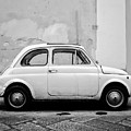 Old Fiat Florence Italy by Edward Fielding
