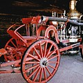 Old Fire Truck by Royce Emley