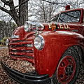 Old Fire Truck by Timothy Flanigan