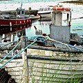 Old Fishing Boats by Stephanie Moore