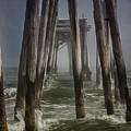 Old Fishing Pier Ocnj by Tom Gari Gallery-Three-Photography