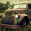 Old Flatbed by Perry Webster