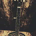 Old Folk Music Banjo by Jorgo Photography - Wall Art Gallery