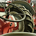 Old Ford Tractors by Mike Martin