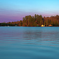 Old Forge Pond Panorama by David Patterson