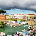 Old Fortress , Fortezza Nuova Of Livorno by Ariadna De Raadt