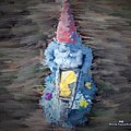 Old Garden Gnome by Pamula Reeves-Barker