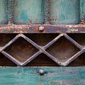 Old Gate Geometric Detail by Elena Elisseeva