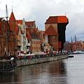 Old Gdansk Port Poland by Sophie Vigneault