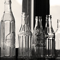 Old Glass Bottles by Emily Smith