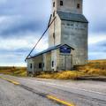 Old Grain Elevator In Idaho by Mel Steinhauer