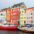 Old Harbour In Copenhagen by Sophie McAulay