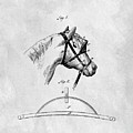 Old Horse Blinker Patent by Dan Sproul