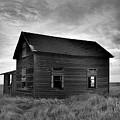 Old House In A Barren Field by Jeff Swan