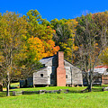 Old House In Cades Cove Tn by Mike Fairchild