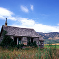 Old House In Idaho by Kathy Yates