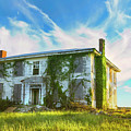 Old House In Isle Of Wight Virginia by Ola Allen