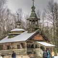 Old House Izba by Yury Bashkin
