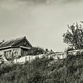Old House On The Hill by Mariia Kalinichenko