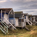 Beach Huts At Old Hunstanton by John Edwards