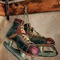 Old Ice Skates by Mark Miller