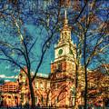 Old Independence Hall by Nick Zelinsky