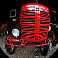 Old International Harvester Tractor by Clayton Bruster