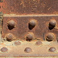 Old Iron Hinges by Rose Webber Hawke