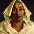 Old Italian Peasant by Gericault Theodore