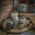Old Jugs Color - Dsc08891 by Greg Kluempers