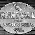Old Kendal Sign by David Lee Thompson