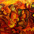 Old Klezmer Band by Leon Zernitsky