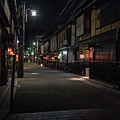 Old Kyoto, Gion Japan by Perry Rodriguez