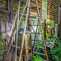 Old Ladder by Tom Reynen