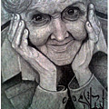 Old Lady by Eslam Nowar