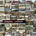 Old Ljubljana Collage by Janos Kovac