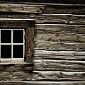 Old Log Cabin by Brad Allen Fine Art
