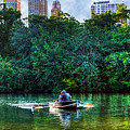 Old Love And Central Park Lake by Randy Aveille