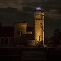 Old Mackinac Point Light, Mackinaw City Mi by Jack R Perry