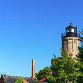 Old Mackinac Point Lighthouse by Les Palenik