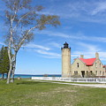 Old Mackinaw Point Light by Donna and Neil Cooper
