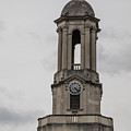 Old Main From Front Clock by John McGraw