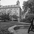 Old Main Penn State University  by John McGraw