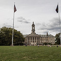 Old Main Penn State Wide Shot  by John McGraw